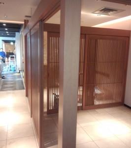 プラザホテル店舗建具2