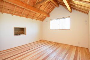 木と漆喰の家_写真9